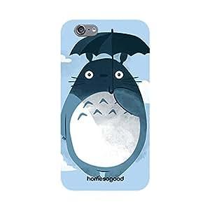 HomeSoGood Fat Penguin Blue 3D Mobile Case For iPhone 6 (Back Cover)