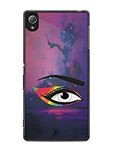 YuBingo Colourful Eye Mobile Case Back Cover for Sony Xperia Z4