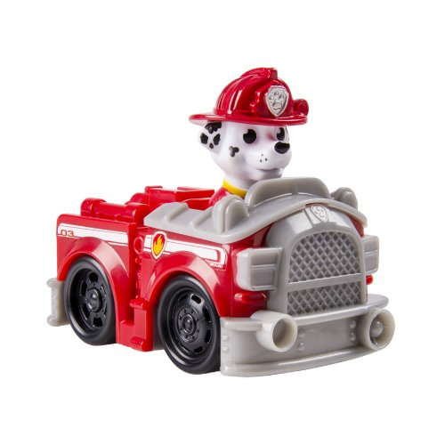 Nickelodeon, Paw Patrol Racers, Marshall's Fire Truck Vehicle - 1