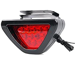 Vheelocityin Triangle Red 12 Led Brake Light With Flash Mode For Ktm Duke 200