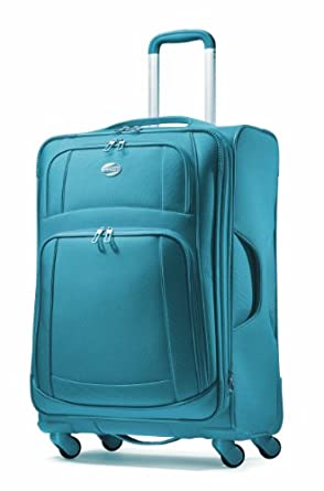 American Tourister Luggage Ilite Supreme Spinner 21, Seaport Blue, One Size