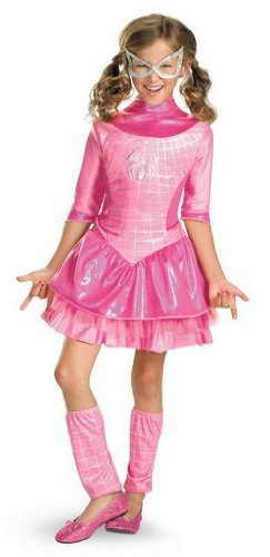 Deluxe Spider-Girl Pink Costume for Kids