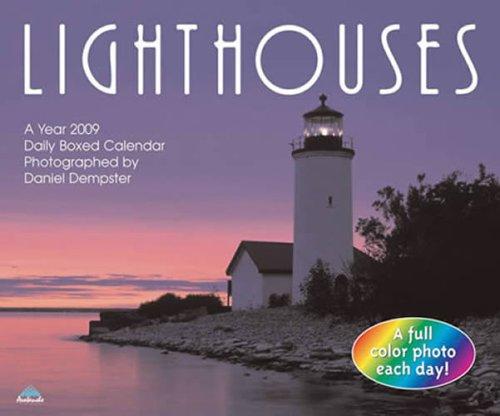 Lighthouses 2009 Daily Boxed Calendar