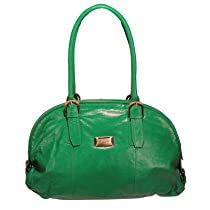 Hot Sale Taylor Mimi Coinkeeper Domed Tote Color: Green