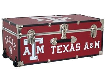 Mercury Seward Trunk Texas A&M University 30-Inch Wheeled Foot Locker by Mercury