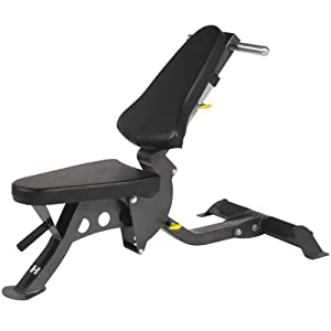 Hoist Fitness Flat Incline Bench Adjustable Weight Benches Sports Outdoors