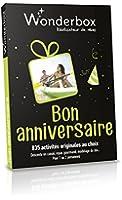 WONDERBOX - Coffret cadeau -BON ANNIVERSAIRE
