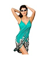 SUNNOW Femme Maillots de bain Bikini Plage Spaghetti Strap Dos Nu Col V - Paréo / Robe de Plage