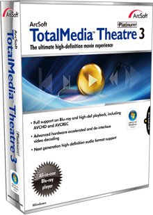 ArcSoft TotalMedia Theatre 3 Platinum with SimHD