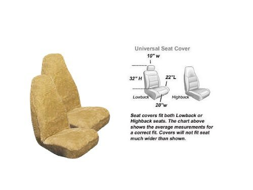 Sheepskin Carseat Covers front-887341