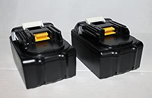 18V 3AH Li-Ion Replacement Battery For Makita BCL180ZW BCL182 BCL182Z - 2 Pack by Mighty Max Battery