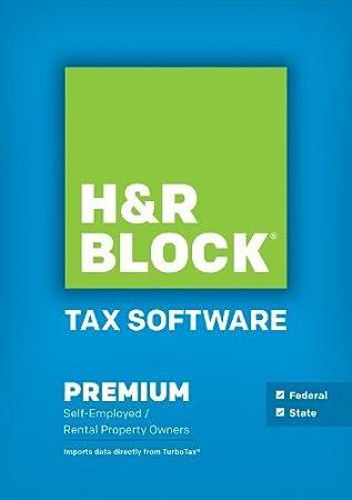 H&R Block Tax Software Premium + State 2014 Mac [Download]
