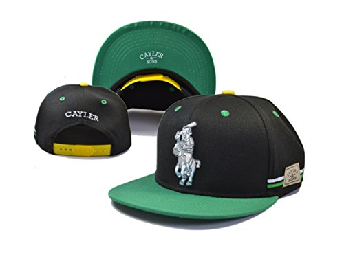 Cayler u. Söhne Unise xhip-hophys Terese per berretti da baseball (falda, verdi nere)
