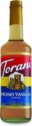 Torani Honey Vanilla Syrup, 750 Ml front-813196