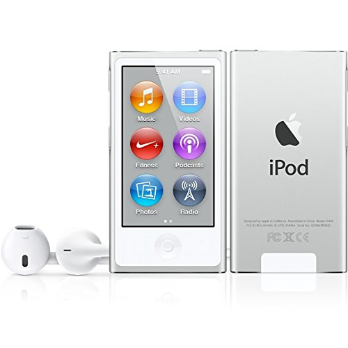 apple-md480ll-cali-ipod-nano-7th-generation-16-gb-silver-with-generic-white-earpods-and-usb-data-cab