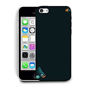 Snoogg Astronaut Goldfish Vector Printed Protective Phone Back Case Cover For Apple Iphone 6+ / 6 Plus