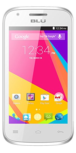 BLU Dash JR 4.0 K Smartphone - Unlocked - White