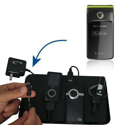 Gomadic Advanced Sony Ericsson TM506 4-port Charging Station - Uses TipExchange Technology to charge up to four devices simultaneously