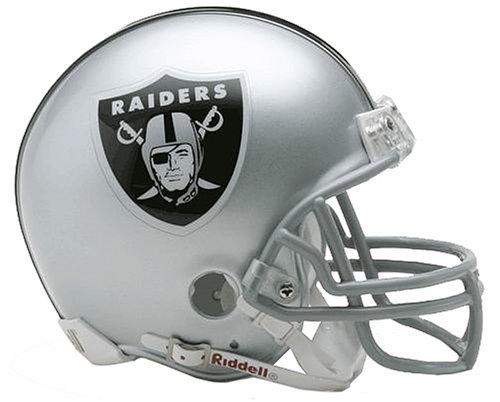 NFL Oakland Raiders Replica Mini Football Helmet (Nfl Mini Football Helmets compare prices)