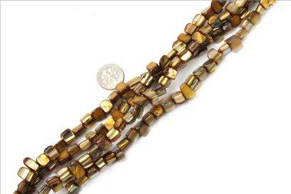 8mm--9mm freefrom gemstone Sea shell beads strand 15
