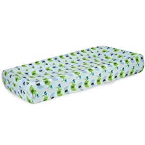 Skip Hop Changing Pad Cover, Elephant Parade (Discontinued by Manufacturer)