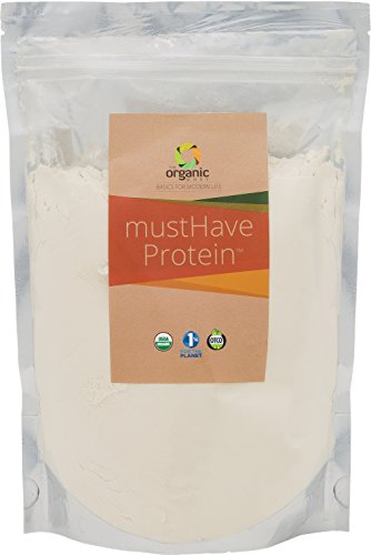 The Organic Whey Protein Powder mustHave USDA Certified Organic Grass Fed Whey Protein Powder, 12 Oz