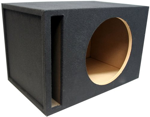 "Asc Single 18"" Subwoofer 1"" Mdf Universal Fit Vented Port Sub Box Speaker Enclosure"