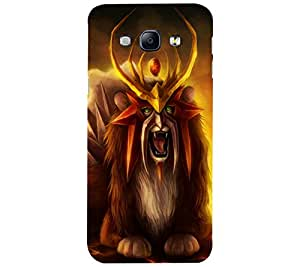 perfect print Back cover for Samsung Galaxy A8
