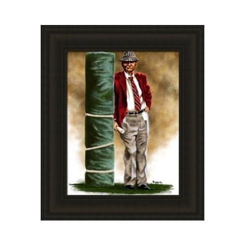 Alabama Crimson Tide Framed Paul Bear Bryant Alabama Crimson Tide Large Giclee