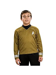 Star Trek II the Movie Child Deluxe Blue Shirt