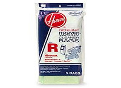 Hoover Type R Canister Sprint Vacuum Paper Bags 5 Pack # 4010063R (Hoover Bags Type R compare prices)