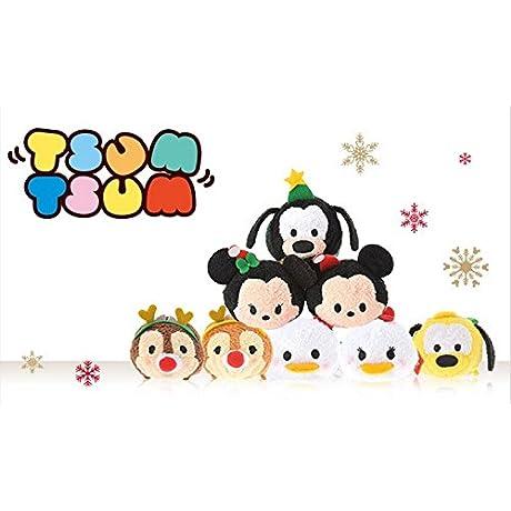 【 ディズニー 公式 】 TSUM TSUM クリスマス 限定 フルコンプリート セット ( Disney ぬいぐるみ ツムツム グッズ )正規品