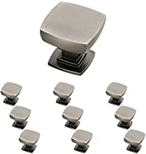 Franklin Brass P29542K-904-B Heirloom Silver 1-1/8-Inch Webber Kitchen Cabinet Hardware Knob, 10 pack