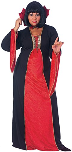Rubies Womens Gothic Vampiress Devil Theme Party Halloween Fancy Costume