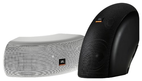 Jbl Controlcrv High Design Indoor/Outdoor Professional Loudspeaker, Black, Single Speaker