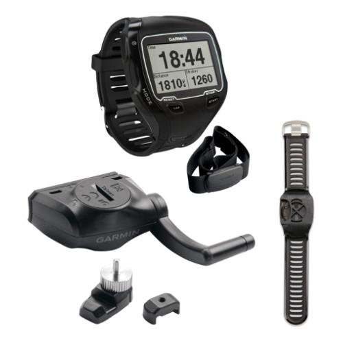 Image of Garmin Forerunner 910XT GPS + HRM Triathlon Bundle (B00A2TSV5A)