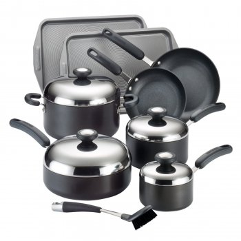 Circulon 83580 Total Hard Anodized Nonstick Cookware Set, 13 Piece