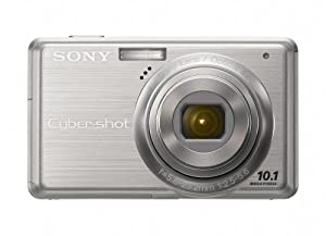 Sony Cybershot DSC-S950 10MP Digital Camera with 4x Optical Zoom with Super Steady Shot Image Stabilization (Silver)
