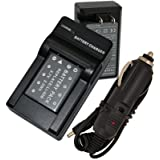Battery+Charger for Olympus Stylus Tough 3000