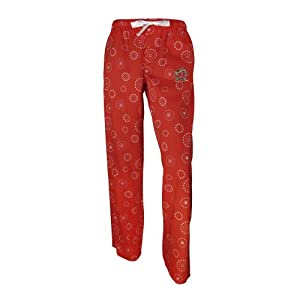 NCAA Maryland Terrapins Ladies Medallion Pant, Red by Concepts Sport