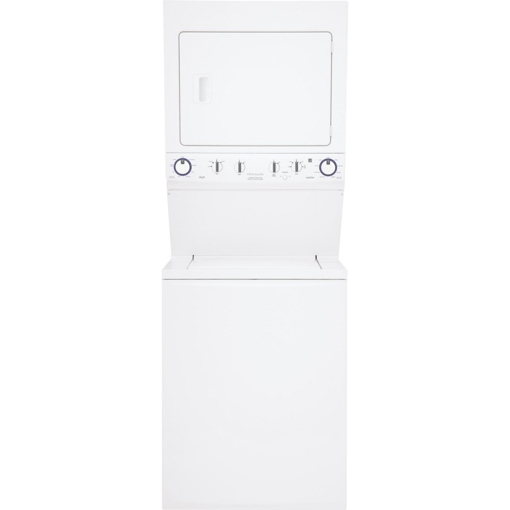 Frigidaire FFLE4033QW: Frigidaire Electric Washer/Dryer High Efficiency Laundry Center