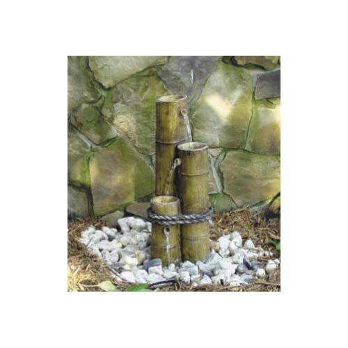 Beckett 7110910 Bamboo Cascade Flowerbed Fountain (Discontinued by