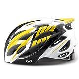 【JCFマーク付】軽量ジャパンフィット自転車ヘルメット(4600)コンビイエロー L~XLサイズ