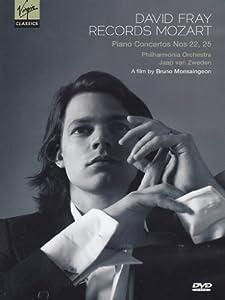 David Fray Records Mozart: Piano Concertos No. 22, 25 [DVD] [2011] [NTSC]