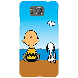 Design Worlds Samsung Galaxy Alpha G850 Back Cover - Cartoon Designer Case and Covers