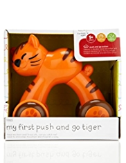 My First Push & Go Tiger Toy