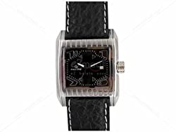 Maxima Attivo Analog Black Dial Mens Watch - 24190LMGI
