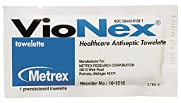 Sanitizing Skin Wipe VioNex - Item Number 10-1510BX - 50 Each / Box