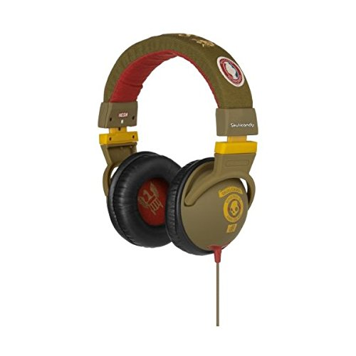 Skullcandy S6Hedy-139 Over-Ear Headphone With Mic (Scout Rasta)