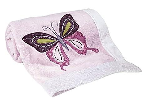 Lambs Ivy Blanket Butterfly